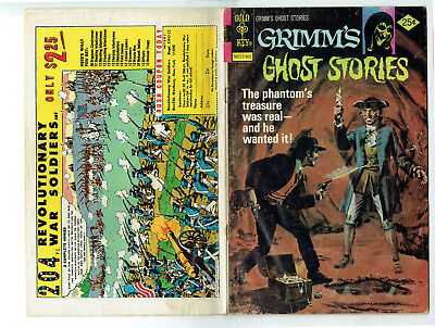 Grimm's Ghost Stories 30 (Gold Key 1976) 4 ghost stories