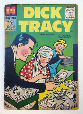 Four issue reading lot: Dick Tracy Comics: #95, 102, 103, 106 1956 Harvey Crime