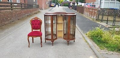 Walnut Queen Anne china cabinet, First fiver may be able to deliver from SR83LA