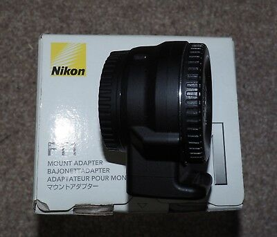 Nikon FT1 adaptor boxed and in full working condition