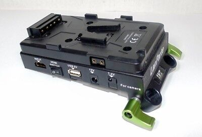 Lanparte VBP-01 Sony V-Mount Battery Pinch with HDMI Splitter