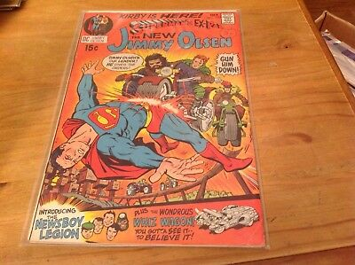 SUPERMAN'S PAL THE NEW JIMMY OLSEN NO:133.1970. 1st ALL JACK 'KING' KIRBY.