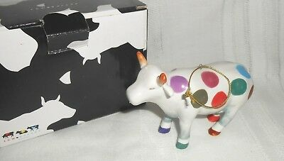 2001 Westland Giftware The Encore Group An Uncowordinated Cow Parade Ornament