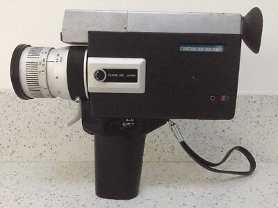 Lovely Vintage Canon Auto Zoom 518 Super 8 Video Camera