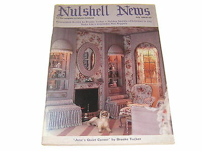 #2390 1988 July  Nutshell News Minatures Magazine For Creators & Collectors