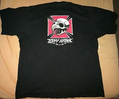 Tony Hawk Powell Peralta Gr. XL  T - Shirt schwarz Santa Cruz