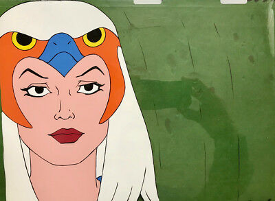 He-Man Masters of the Universe Filmation production cel Sorceress