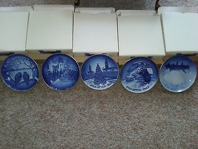 Bing and Grondahl Christmas plate 1995 centenial collection