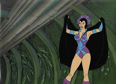 He-Man Masters of the Universe Filmation production cel Evil-Lyn