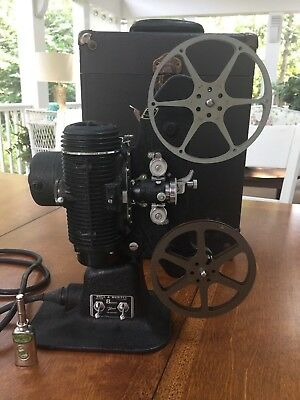 Vintage Bell & Howell Filmo-Master 8Mm Motion Picture Projector