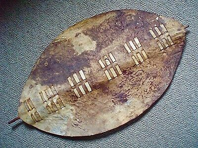Large Antique  Zulu Shield ........great Condition