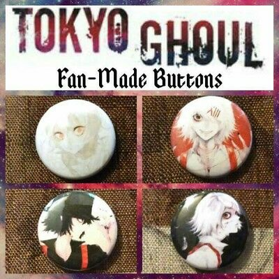 Tokyo Ghoul Buttons