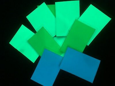 LOT OF 10  VARIOUS COLOR GLOW in the DARK  ALL –PURPOSE LABELS