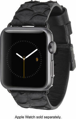 NEW Case-Mate For Apple Watch Sport 38mm Replacement  Strap Wrist Band -Black