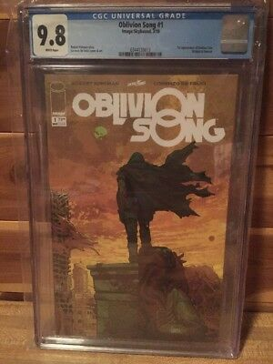Oblivion's Song 1 Cgc 9.8 First Appearance Nathan Cole Kirkman Hot