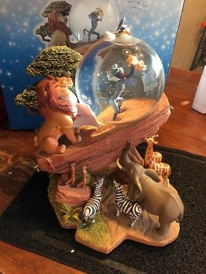 Disney Lion King Circle Of Life Anow Globe