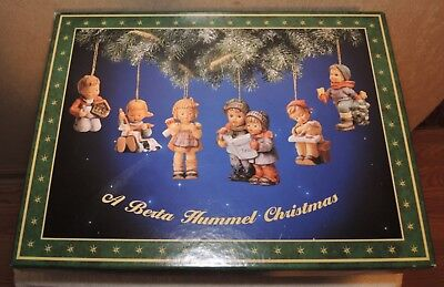 Large collection of vintage Berta Hummel Christmas ornaments