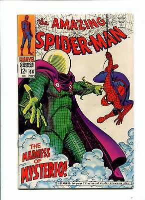 Amazing Spider-Man #66 NM- 9.2 HIGH GRADE Marvel Comic Mysterio Cover Silver 12c