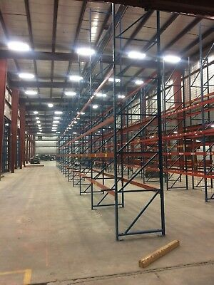 20'x3'x9'Heavy Duty Structural Pallet Rack