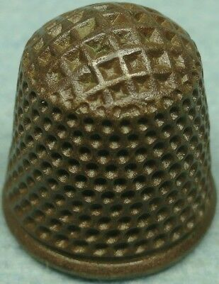 18Th C. Bronze Thimble