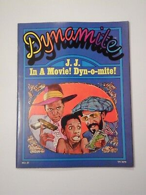 "Dynamite#21(1976)""let's Do It Again!""~The Falcon~Jimmie Walker~Bill Cosby~Rare!"