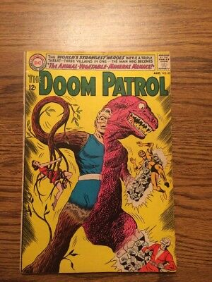 The Doom Patrol 89 VG 1964 DC Complete
