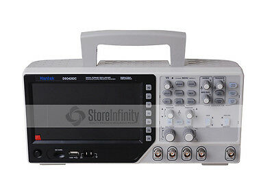 Hantek Digital Storage Oscilloscope 200MHZ Arbitrary/Function Waveform DSO4202C