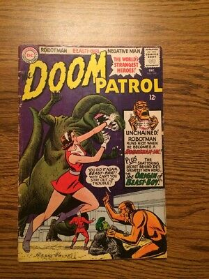 The Doom Patrol 100 VG- Origin Beast-Boy 1965 DC Complete Teen Titans Go!