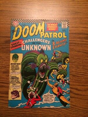 The Doom Patrol 102 VG+ 1966 DC Complete