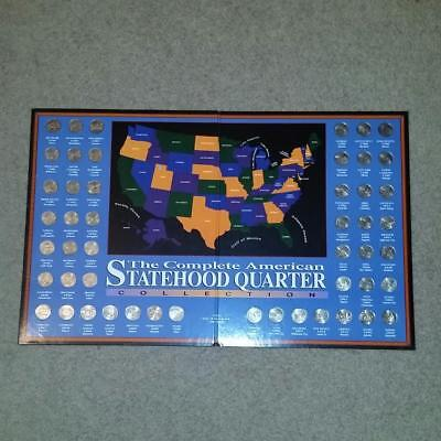 Complete 50 COIN American Colorized Statehood Quarter Collection- UNCIRCULATED!!