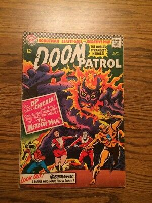 The Doom Patrol 103 VG+ 1966 DC Complete