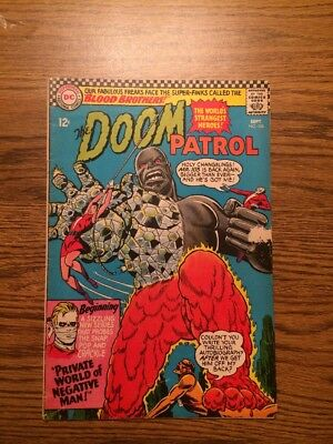 The Doom Patrol 106 VG+ 1966 DC Complete