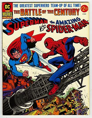 Superman vs Spider-Man: The Battle of the Century NM- 9.2 DC & Marvel Treasury