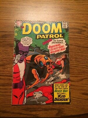 The Doom Patrol 108 VG 1966 DC Complete