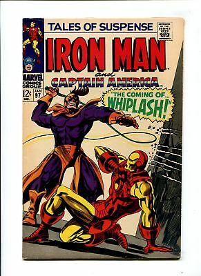 Tales of Suspense #97 VF+ 8.5 HIGH GRADE Marvel Comic KEY 1st Whiplash Iron Man