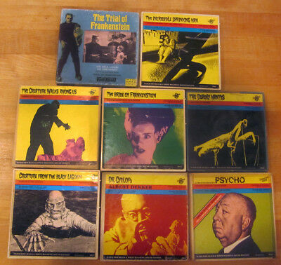 Super 8MM 200 Series Horror Films Universal 8 Collection of EIGHT