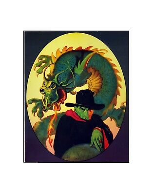 The Shadow in the Dragon's Realm Street & Smith pulp art 30's  style sericel
