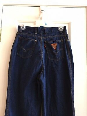 Vtg 70's 80's Levi's Triangle Tag High Waisted Women's 8L EUC