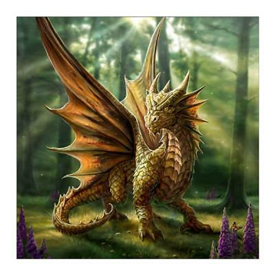 "Diamond Painting - Diamant Malerei - Stickerei - ""Drachen"" (812/1)"