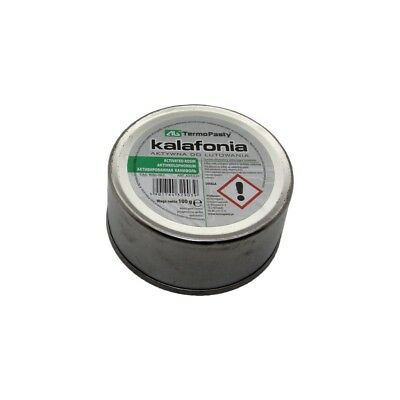 KALAFONIA-100 Flux rosin based No Clean RMA resin metal can 100g  AG TERMOPASTY