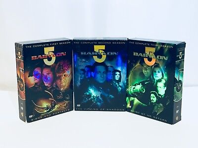 Babylon 5 The Complete TV Series Seasons 1-3~ Movie Collection DVD Format