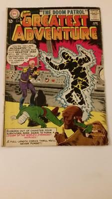 My Greatest Adventure #80 Gd+ 1St Doom Patrol Dc Key Issue