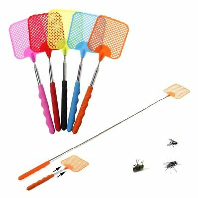 73cm Portable Telescopic Fly Swatter Extendible Insect Pest Catcher Handy Grip