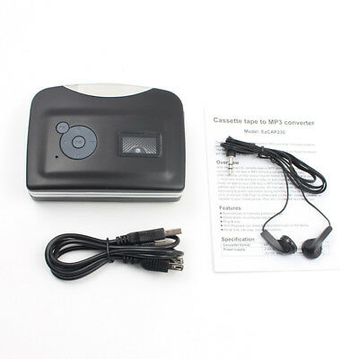 Tape to PC Super Cassette To MP3 Audio Music CD Digital Player Converter Capture