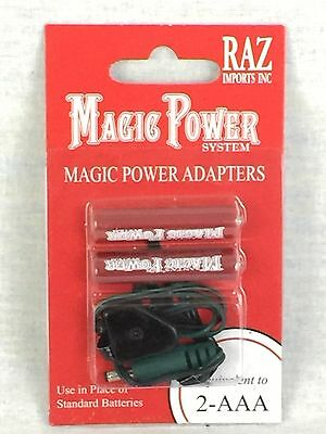 RAZ Magic Power Adapters System Equivalent To 2 AAA Batteries #2181-96