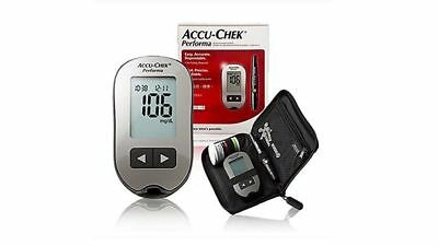 Accu Chek Performa Glucometer + Lancing Device + 200 Lancets + 100 Test Strips