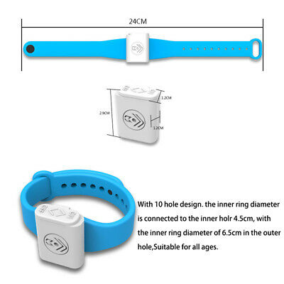 Electronic Mosquito Repellent Bracelet Ultrasonic Insect Repeller Control MK23