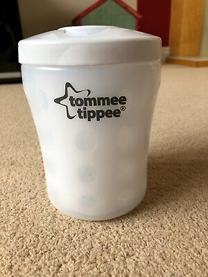 Tommee Tippee Closer To Nature Single Bottle Travel Steriliser - Used