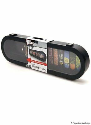 Tech Deck Skateboard Wall Display Carry Case for collectors of fingerboards