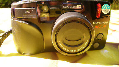 Olympus Superzoom 110 35mm Kompaktkamera